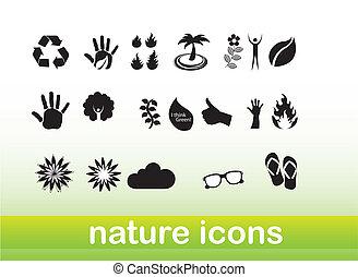 natura, icone
