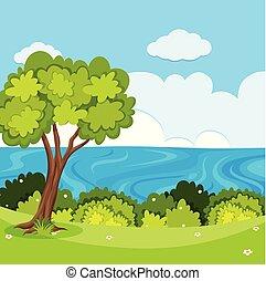 natura krajobraz, prospekt