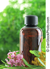 natural, 1415., esencial, hierbas, aceite