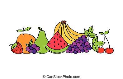 natural and fresh fruits