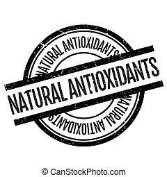 Natural antioxidants stamp