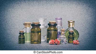 Natural aromatic essential oils