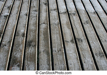 A natural background - planks