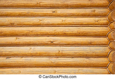 Natural background of balk wall