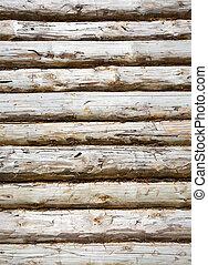 pine balk wall - Natural background pattern of pine balk ...