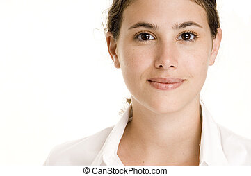 Natural Beauty 2 - A beautiful and natural young woman in...