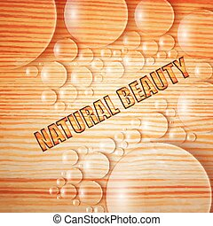 Natural Beauty Background - Natural beauty background with...