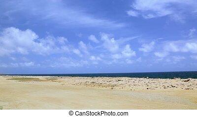 Natural beauty of Aruba. North coast. Off-road Aruba....