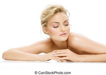 Natural Beauty - Young natural woman.