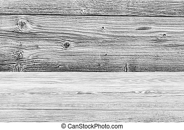 Natural black old wood texture