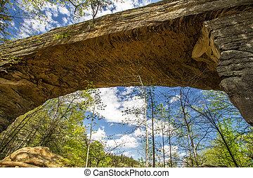 Natural Bridge In Kentucky