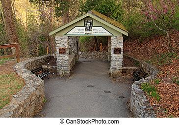 Natural Bridge Stairway Entrance