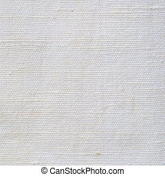 Natural Bright White Flax Fiber Linen Texture, Detailed Macro Closeup, rustic crumpled vintage textured fabric burlap canvas pattern, beige copy space