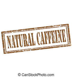 Natural Caffeine-stamp