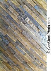 natural, chão, carvalho, textura, padrões, madeira