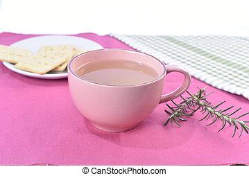 natural cinnamon tea and clove .