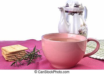 natural cinnamon tea and clove