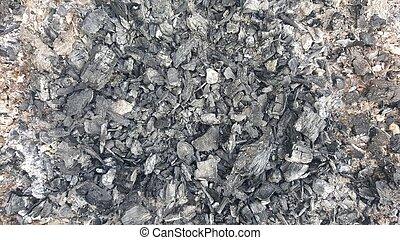 Natural coals texture. Abstract texture
