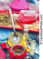 natural cosmetics and spa