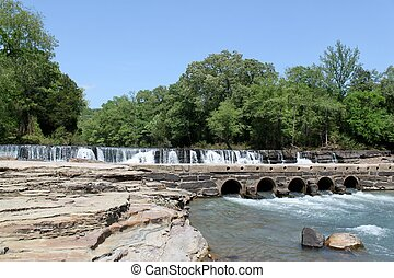 Natural Dam in Arkansas - This is Natural Dam in Arkansas.