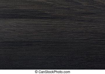 Black blank texture for design. Natural dark wood background.