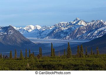 natural de alaska, paisaje