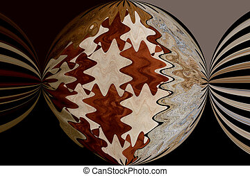 Natural Design - A digital image with strong natural...