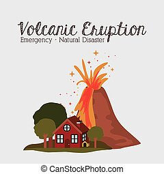 natural disaster design, vector illustration eps10 graphic