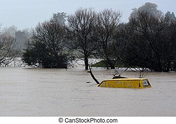 Natural disaster - Flood - KAWAKAWA , NZL -JUNE10...