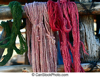 Natural Dyed Yarn