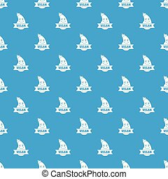 Natural eggplant pattern vector seamless blue