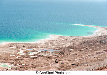 Natural environmental disaster on Dead Sea shores