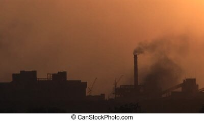 Natural Gas - Smoke and gas