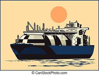 Natural Gas Tanker