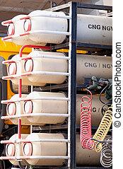 Natural Gas Vehicles. Alternative energy.