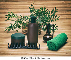 Natural hair care beauty products