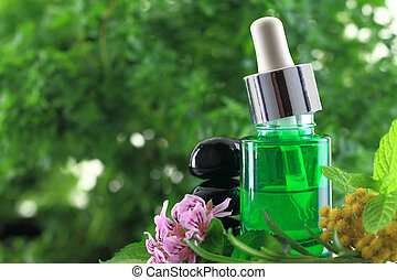 Natural herbs essential oil