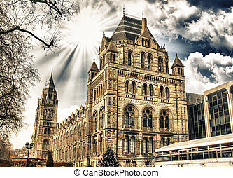 Natural History Museum in London - Building Exterior