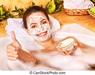 Natural homemade facial masks . - Natural homemade facial...
