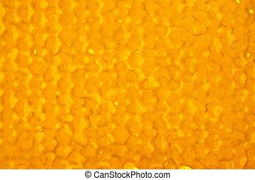 natural honeycomb texture, macro view