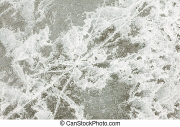 Natural Ice Surface Texture