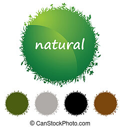 Natural Icon Set
