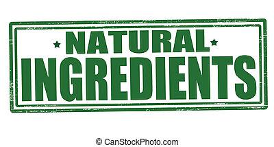 natural, ingredientes