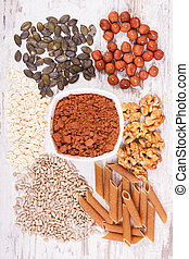 Natural ingredients as source copper, minerals and dietary...