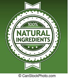 Natural Ingredients Badge