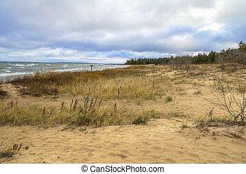 Natural Lake Michigan