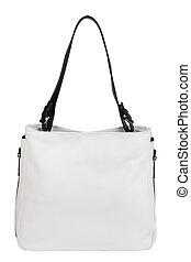 Natural leather female purse - Light natural leather female...