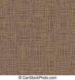 Natural Linen Background. Woven, Threads Texture. Napkin, Table Cover, Tableware, Textile. Vector Illustration