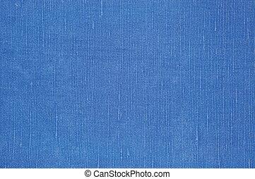 natural, luminoso azul, linho, fibra, linho, textura, detalhado, macro, closeup, rústico, amarrotado, vindima, textured, tecido, burlap, lona, padrão, horizontais, áspero, fundo, espaço cópia