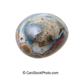 specimen of Ocean (Orbicular) jasper gemstone - natural...
